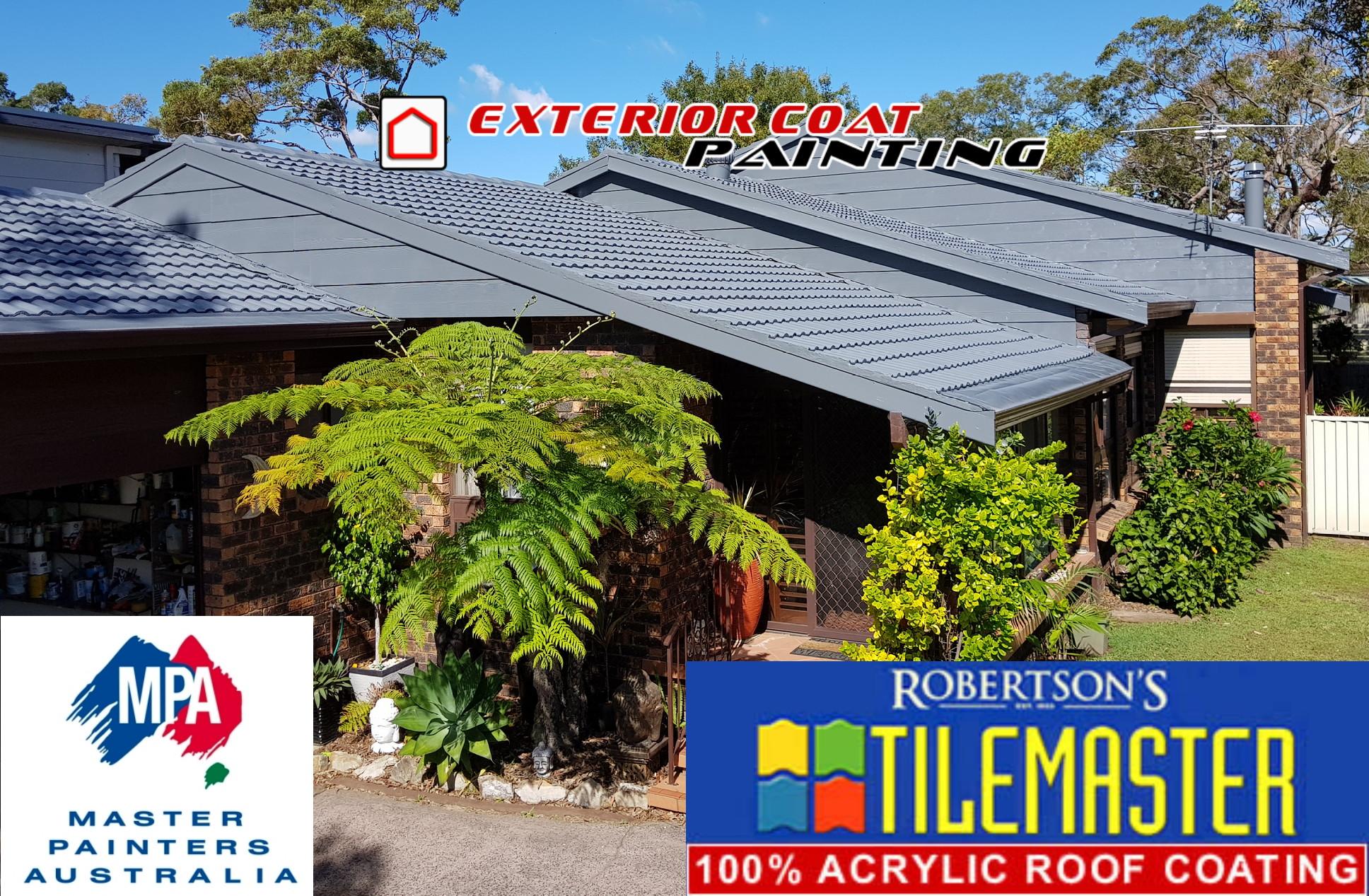 Cement Tile Roof Restoration In Budgewoi Exterior Coat
